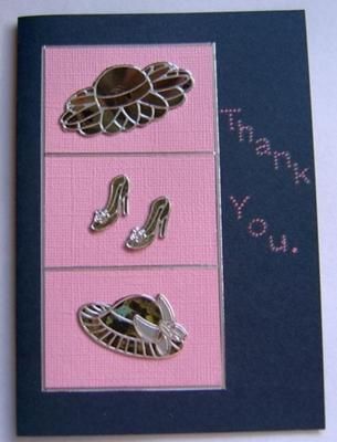 Hats and Shoes Card