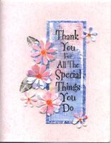 hero art stamped card