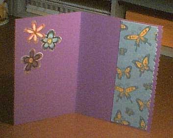 inside girl card