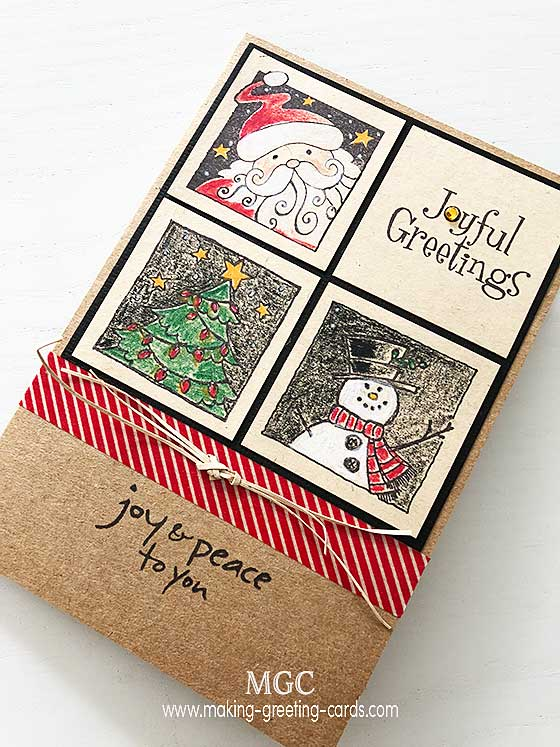 Christmas verses to put inside your handmade cards