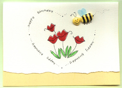 Happy Birthday Heart Card