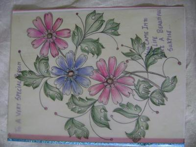 Handmade Card To Someone Very Special