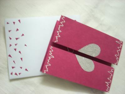 Heart - Missing You Card