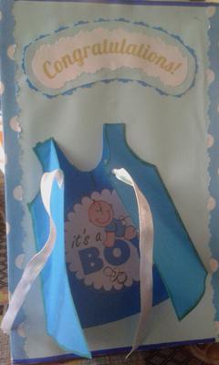 It's a Boy! Baby Boy Card