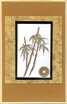 oriental card/Oriental Bamboo Card