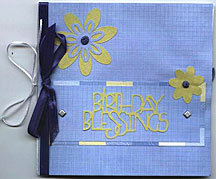 paperbag greeting card