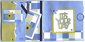 paper bag card