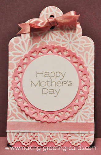 mothers day tag/Pink Mother's Day Tag