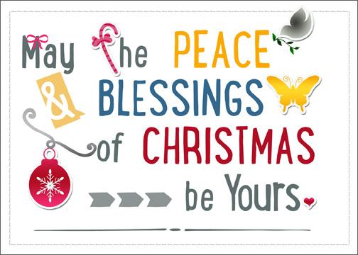printable christmas card/Download & Print Christmas Card