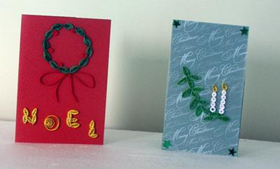 2 Quilling Cards