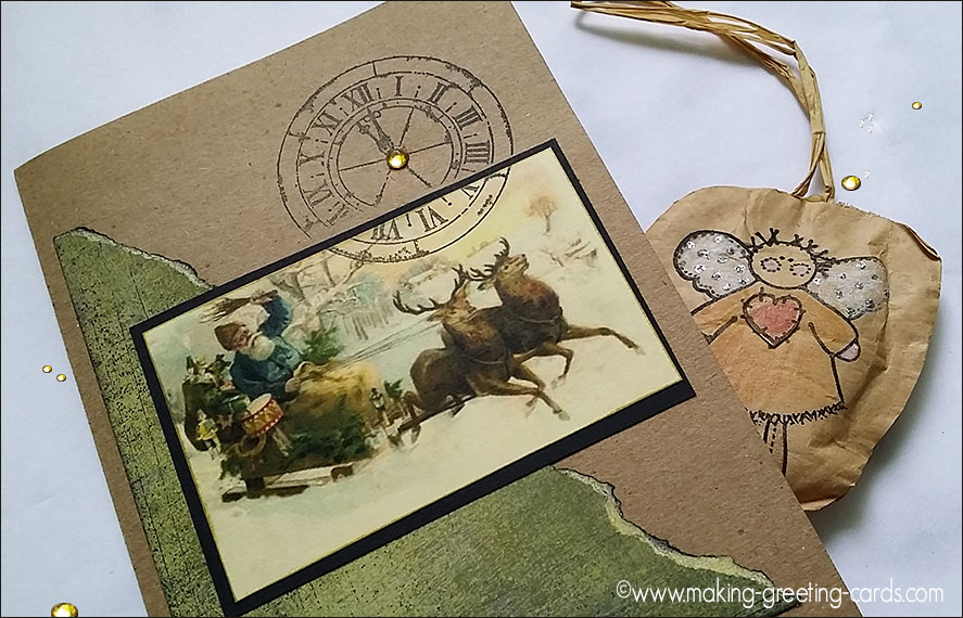 handmade christmas cards/Readers' Cards