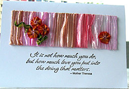 ribbon card