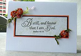 ribbon card