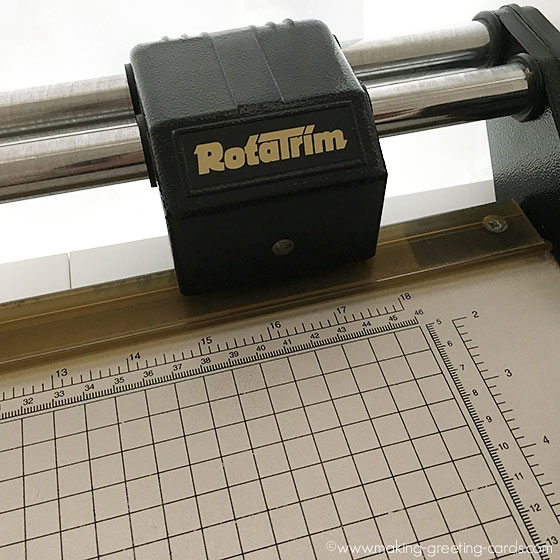 rotatrim - a paper trimmer