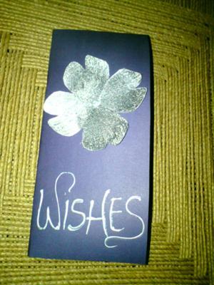 Tremendous Silver On Purple Handmade Birthday Card Personalised Birthday Cards Arneslily Jamesorg