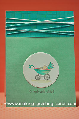 Simply Adorable Baby Card