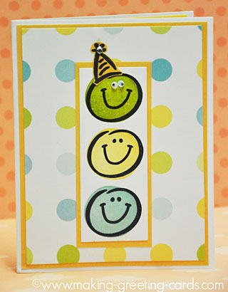 Smiley Birthday Card 2012