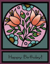 stain glass ecard