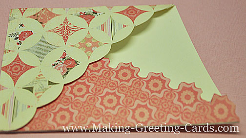 Wrapped Around Pocket Card