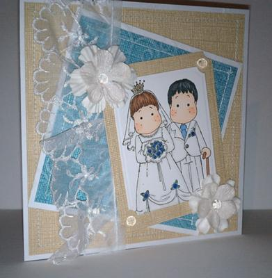 A Simple Wedding Anniversary Card