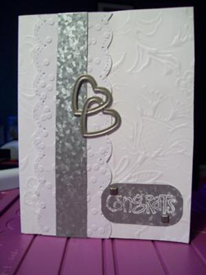 Wedding Card : Congrats