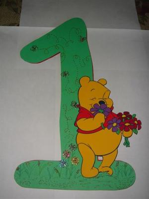 Winnie the Pooh Card for Kids