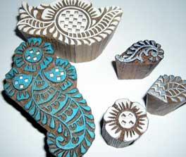 batik stamps