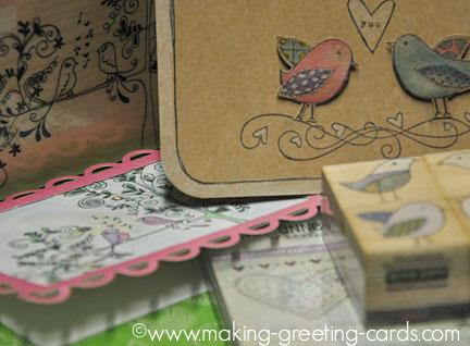 lovebirds greeting cards/Lovebirds Greeting Cards
