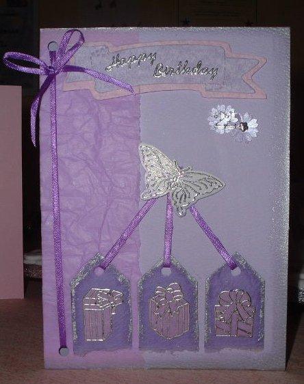 22nd birthday card