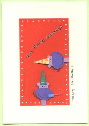 3d handmade card