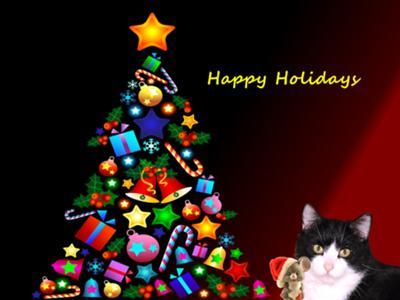 Kit and Mouse Christmas