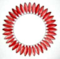spirograph design colored