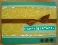 Handmade Happy Birthday