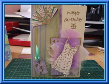 Birthday card for special friends