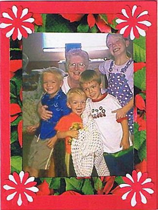 Family Christmas Photo Card