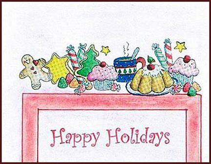christmas postcards 1