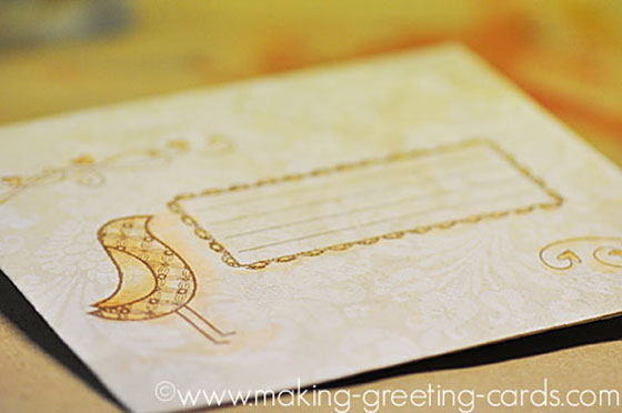 pretty envelope design