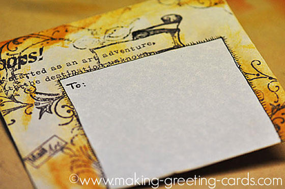 decorated envelopes