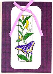 handmade butterfly cards