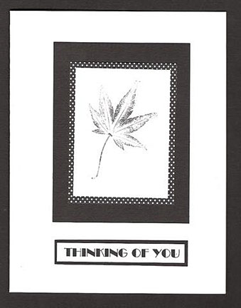 thinking of you card/Thinking of You