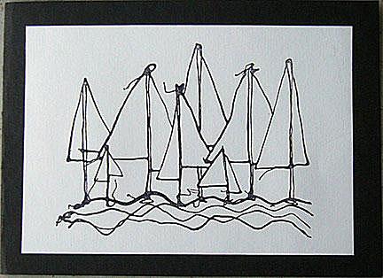 sailing boats card/Sailing Boats