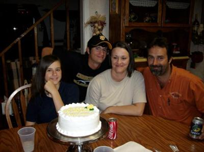 Celebrating Mom's Birthday