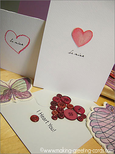 Valentine Card Ideas - Inspiration to Jumpstart Your Happy Valentines Card projects.