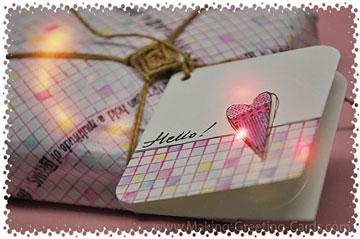 Hello! Gift Wrapping Idea