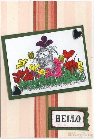 house mouse card