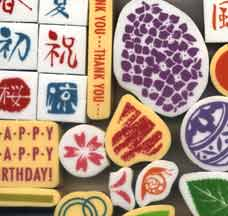 japanese rubber stamps