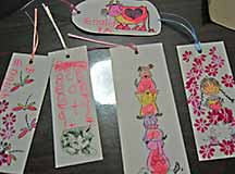 bookmarks by children