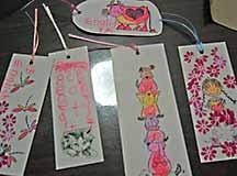 bookmarks by children