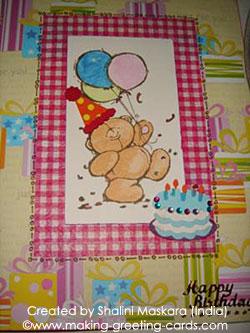 Happy Birthday Card Idea for Kids