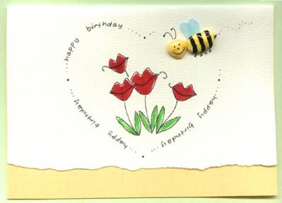 happy birthday card heart